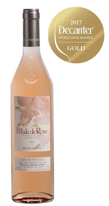 P tale de rose ch teau la tour l ev que 75 cl c te de provence vanaf 17 95 frankrijk - Petale de rose comestible ...